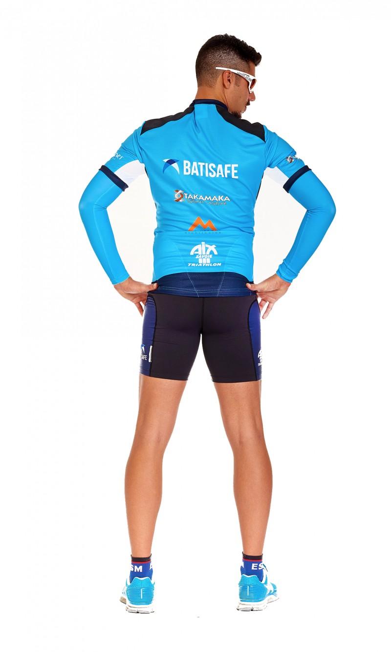 """T-shirt Technique personnalisé """"Ultra-Trail"""" avec protection épaules et flancs"""