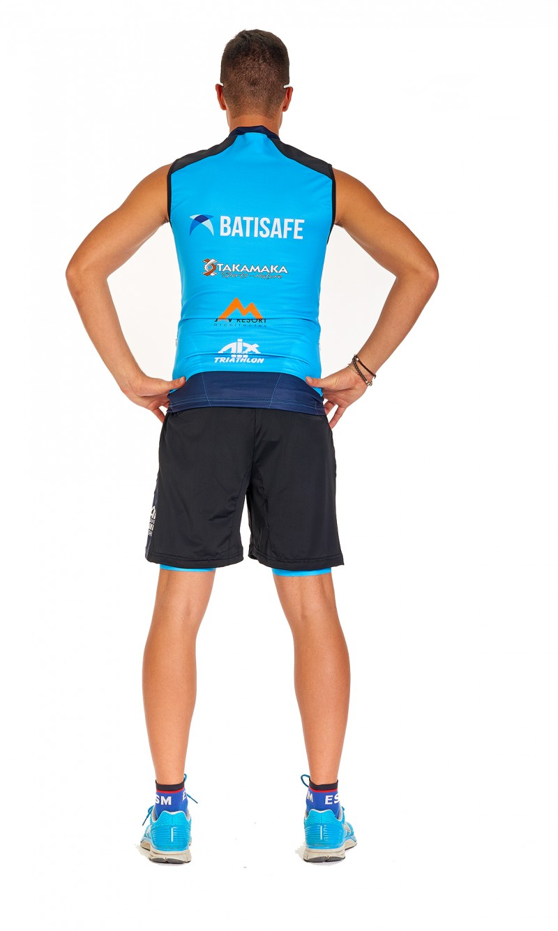 """Short Mixte """"Ultra-Trail"""" Jambes Longues."""