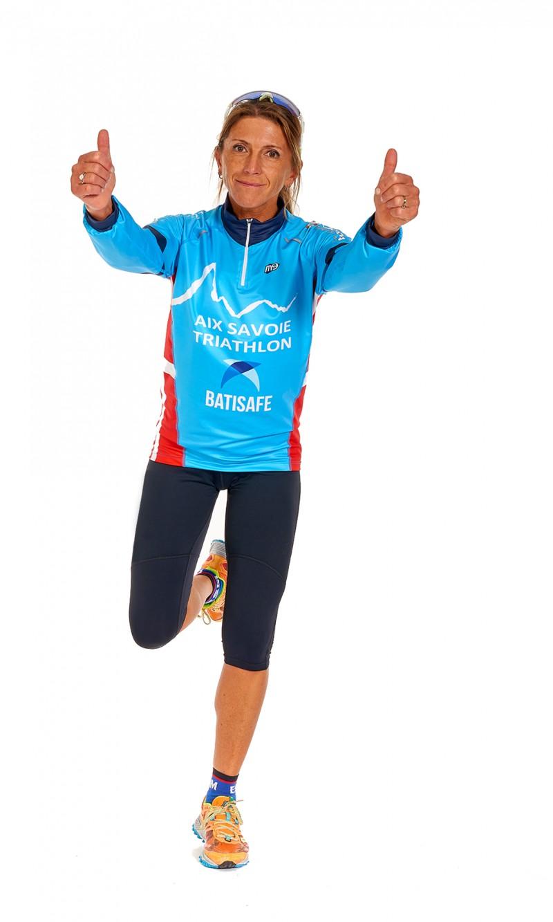 Maillot ML Femme Running Col Zippé
