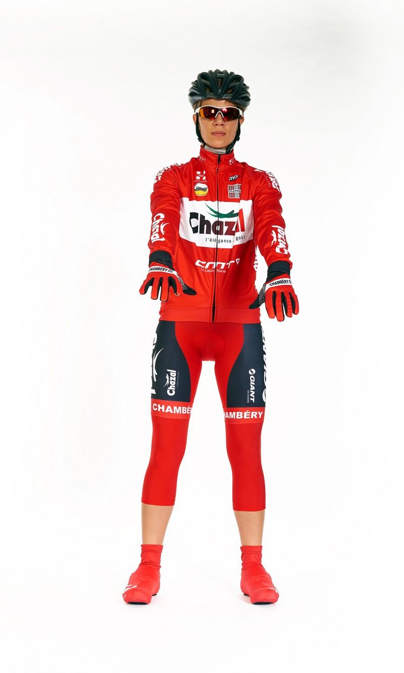Veste demi-saison compétition cyclisme femme