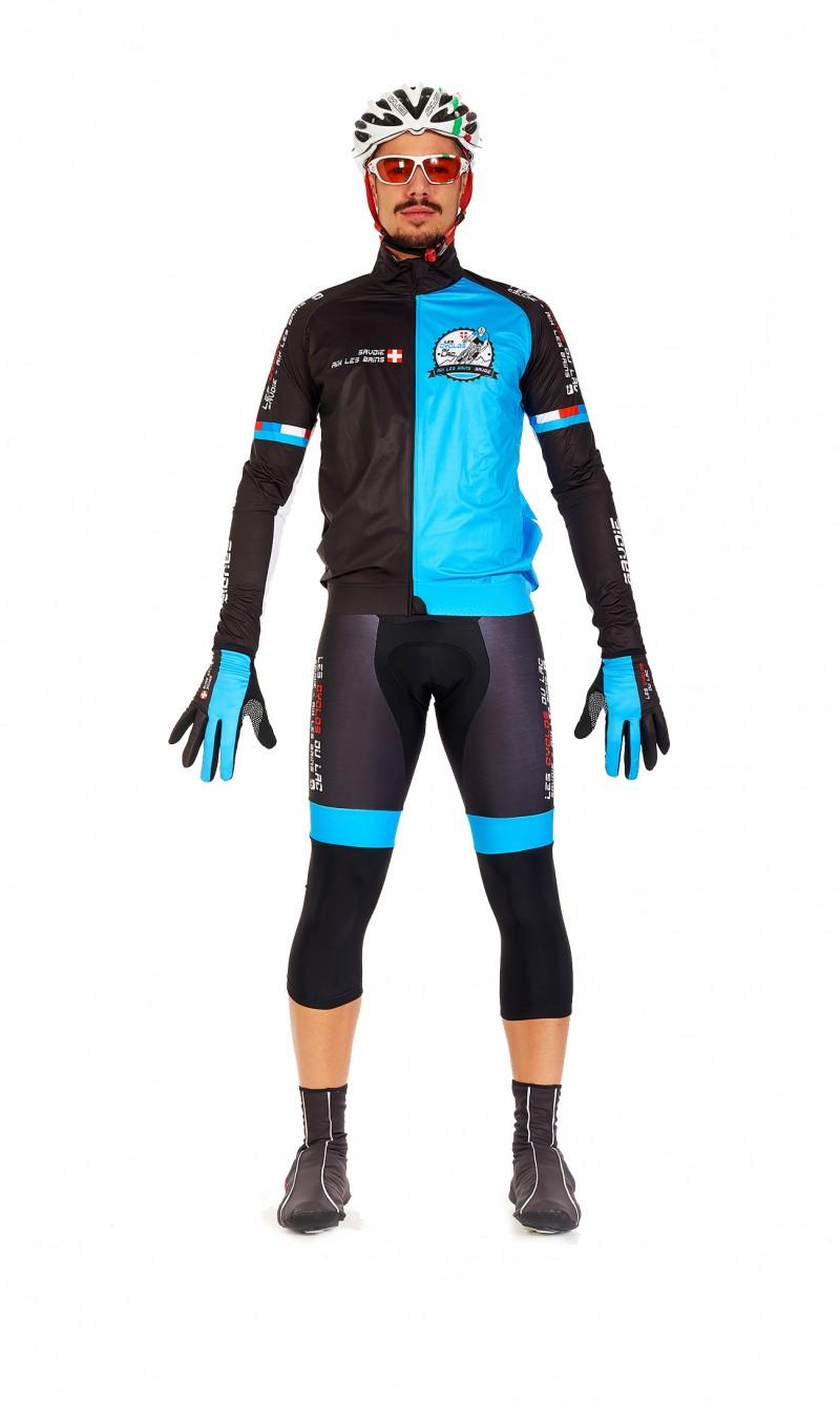 Veste imperméable Mixte Cyclisme personnalisée club