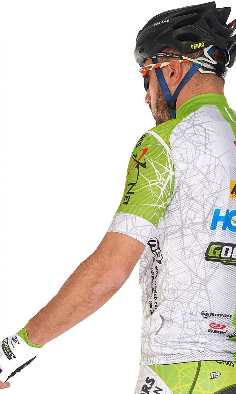 Coupe Vent Mixte sans manche cyclisme personnalisé