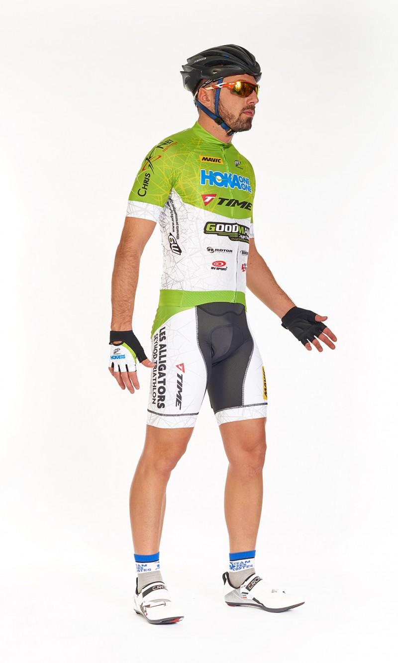 Maillot MC Homme compétition cyclisme personnalisé