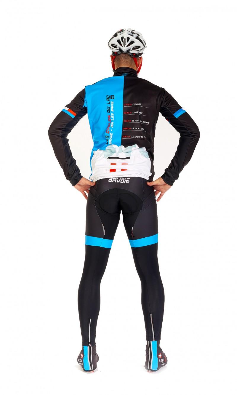 Vest Hiver Mixte Cyclisme personnalisée club
