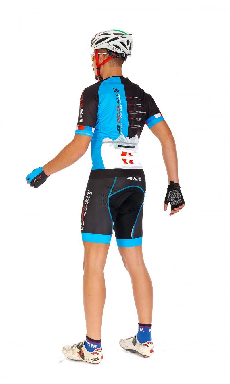 Maillot MC sans col Mixte Homme Cyclisme personnalisé club