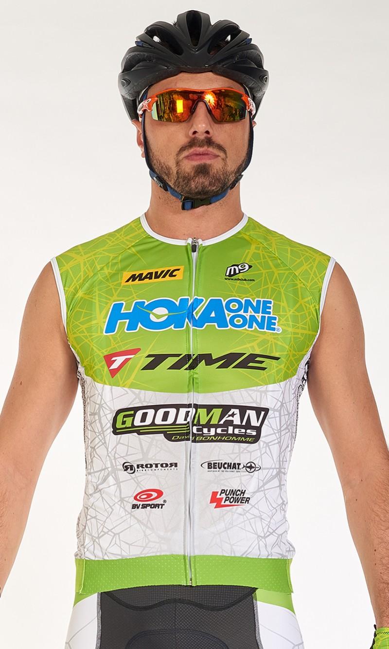 Maillot Homme Cyclisme sans manche personnalisé club