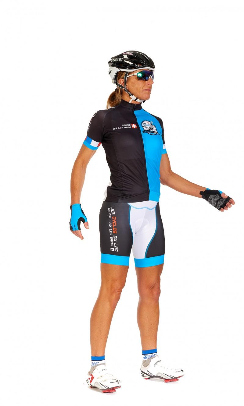 Maillot MC Femme cyclisme personnalisé