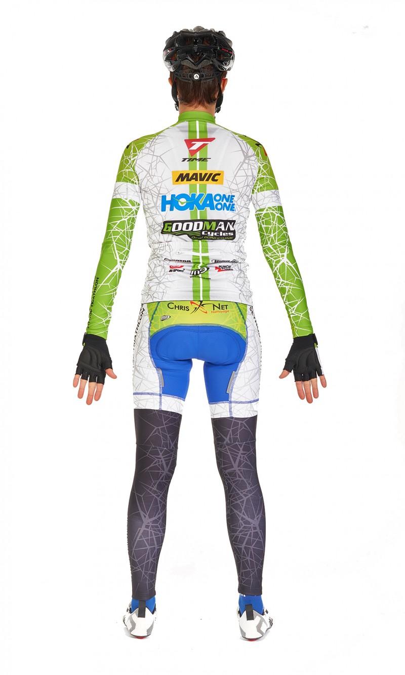 Manchettes mixte personnalisé Cyclisme