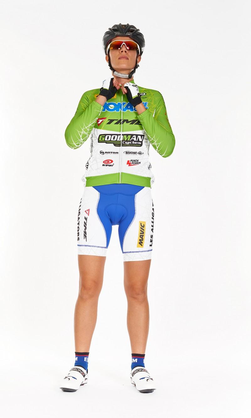 Maillot ML Femme Cyclisme demi saison personnalisé