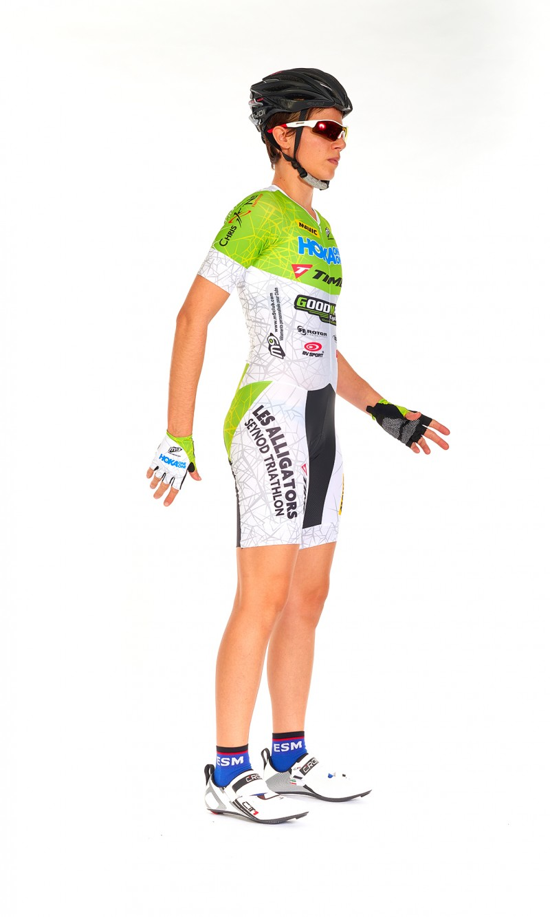 Combinaison manches courtes Triathlon Mixte longue distance personnalisée