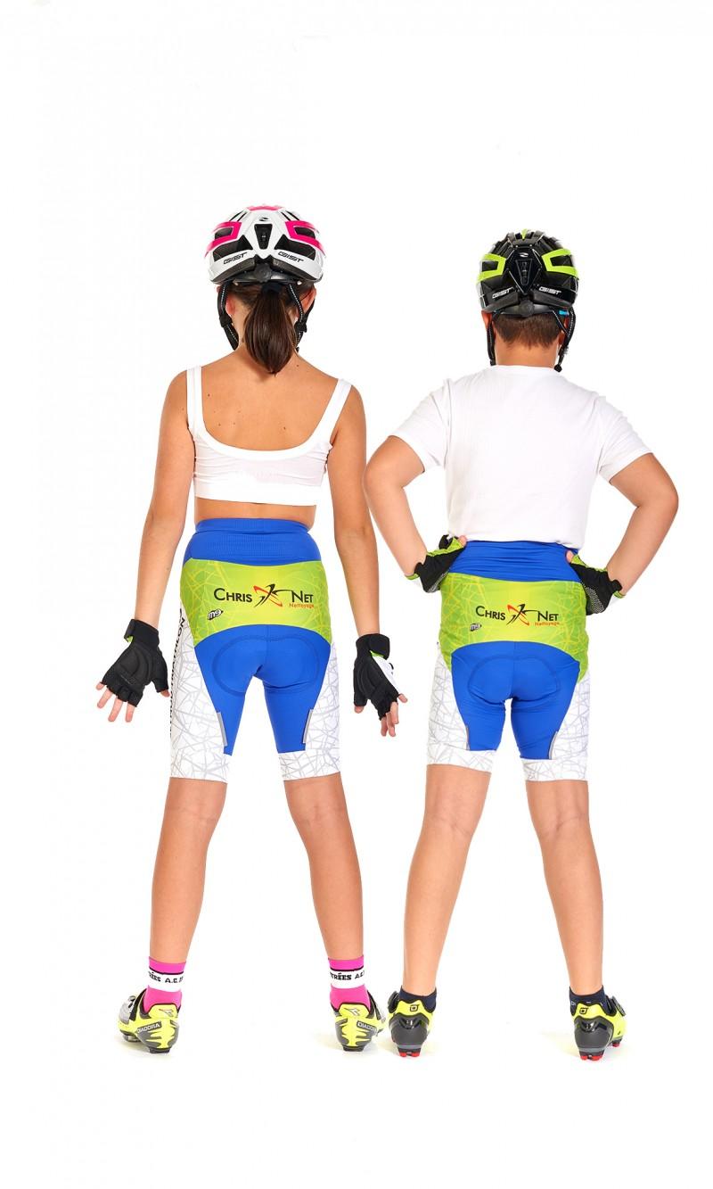 Cuissard Mixte Enfant Cyclisme personnalisé club