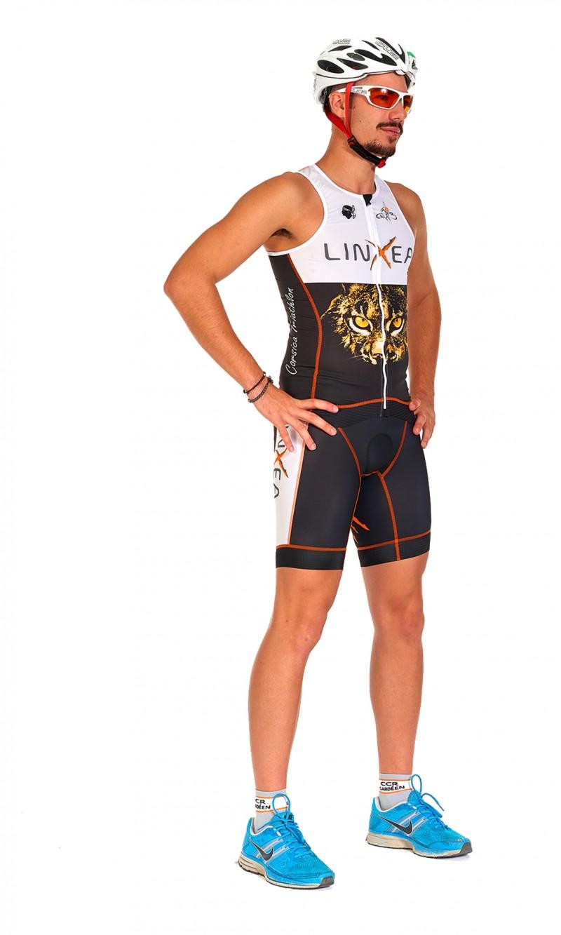 Top Triathlon Homme personnalisé sublimation club