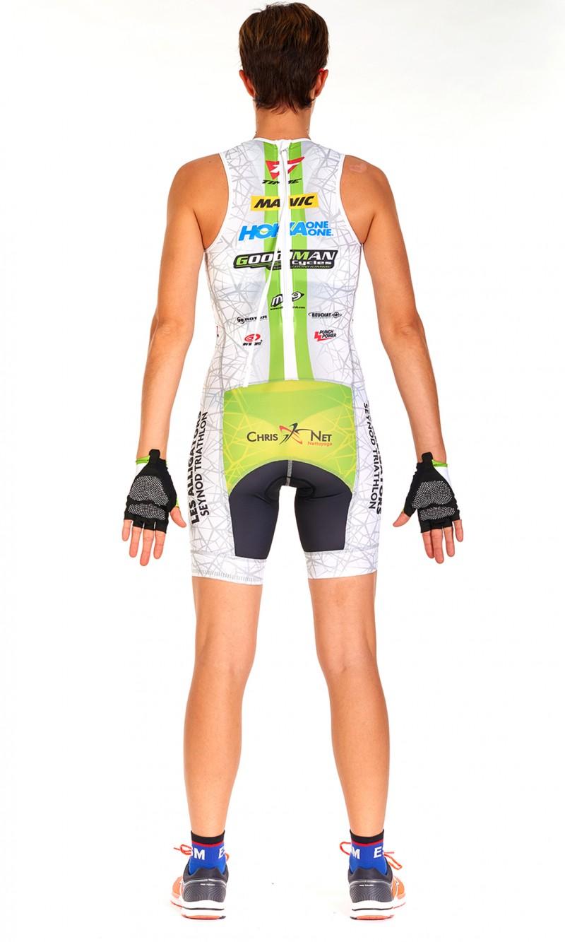 Combinaison Triathlon Femme Sprint personnalisée
