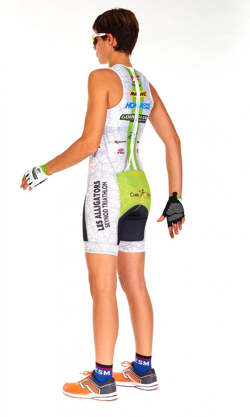 Combinaison Triathlon Femme Sprint personnalisée sublimation