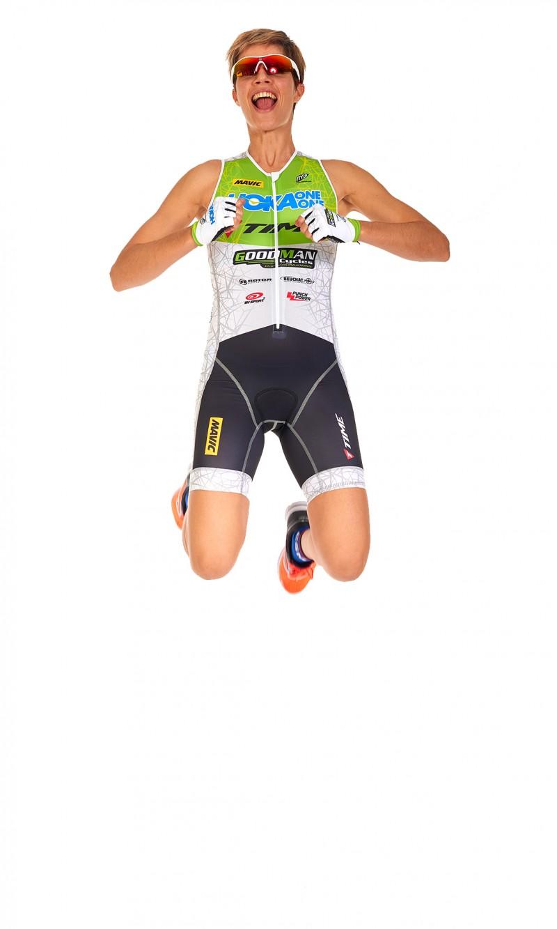 Combinaison Triathlon Femme Longue distance personnalisée club