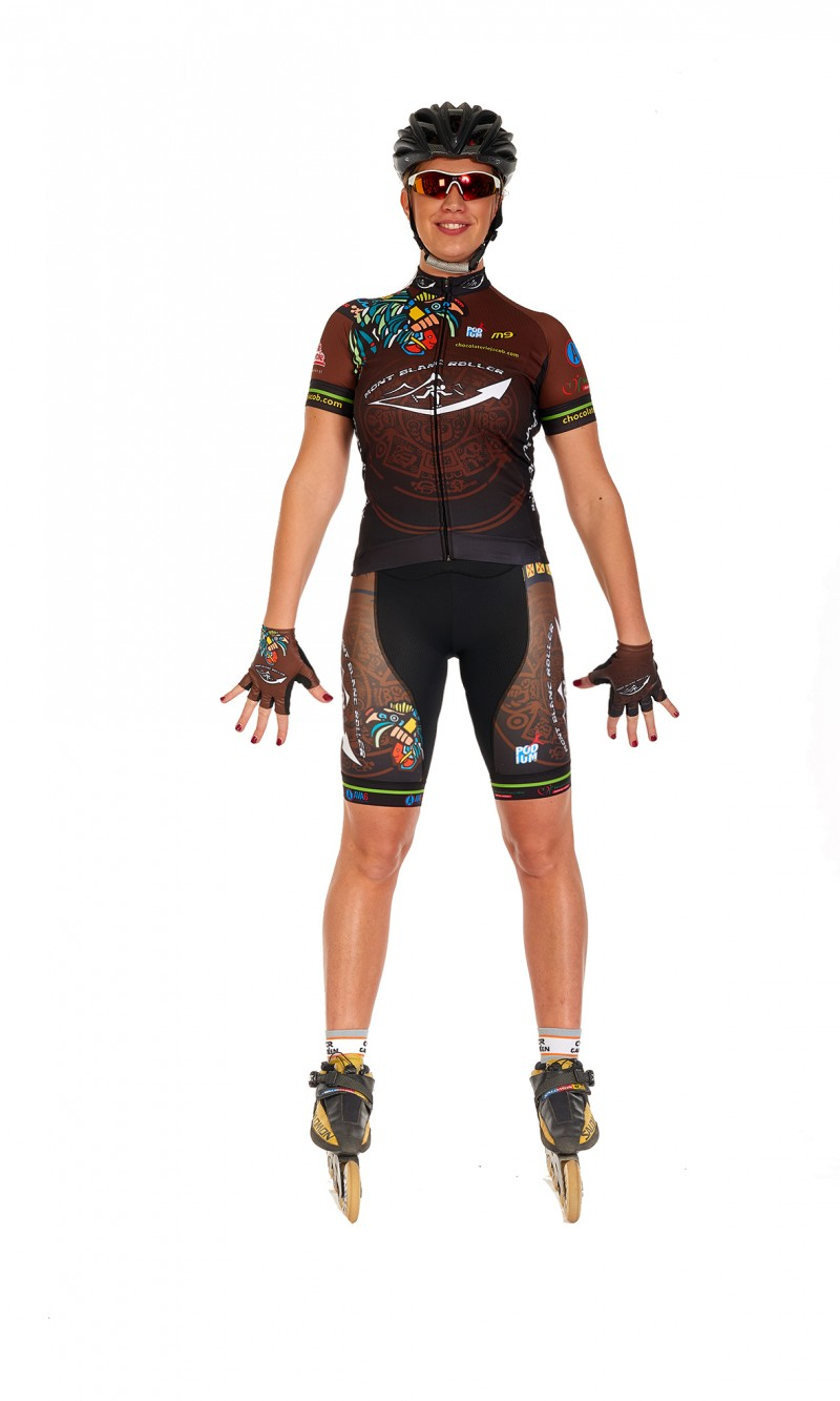 maillot femme manches courtes Roller personnalisé club sublimation M9