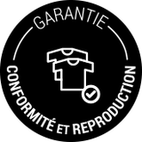 garantie conformité et reproduction de nos vetements